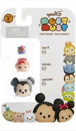 Disney Tsum Tsum Series 3 Stackable Vinyl FRED JESSIE MICKEY