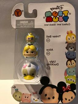 Disney Tsum Tsum Series 3 Tinker Bell, Alice & Ugly Duckling