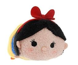 Disney Tsum Tsum Snow White Mini Stackable New with Tag Seve