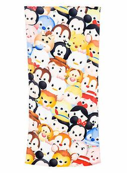Disney Tsum Tsum Stacks Bath Beach Towel 58x28
