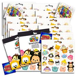 Disney Tsum Tsum Stickers Party Favors Pack - 12 Sheets of T