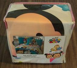 Disney Tsum Tsum Mashup 4 Piece Sheet Set