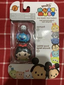 Tsum Tsum 3 pack series 3 Disney NEW Baymax Stitch Snow Whit
