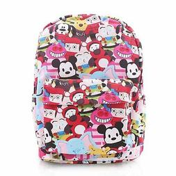 Finex Tsum Tsum Canvas Backpack with Laptop Storage Compartm