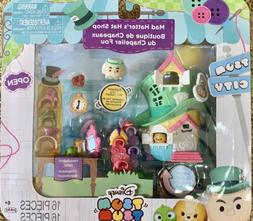 Disney Tsum Tsum City MAD HATTER'S HAT SHOP Playset ~ Fuzzy