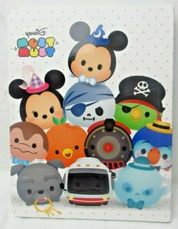 Disney Parks Tsum Tsum Cute Diary Notebook Journal WDW MK -