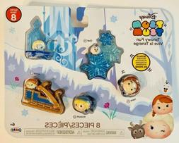 Disney Tsum Tsum Frozen, Tsnowy Fun Playset! New!  Elsa, Ann