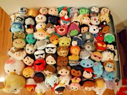 Disney Tsum Tsum Mini Plush - Dumbo Gaston Gill Minnie Mowgl