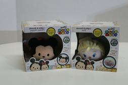Disney Tsum Tsum Lights and Sounds Elsa and Mickey Mouse Plu
