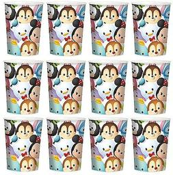Tsum Tsum Lot of 12 16oz Party Plastic Cup ~Party Favor Supp