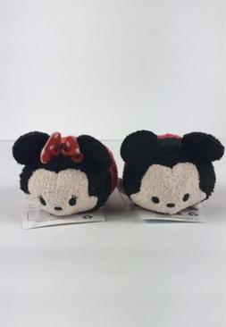 Disney Tsum Tsum Mickey Mouse & Minnie Mouse Set Small Size