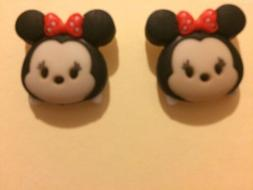 Tsum Tsum Minnie Mouse Stud Earrings, Disney Jewelry