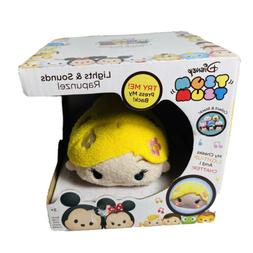 Disney Tsum Tsum Rapunzel Lights And Sounds Plush Figure NIB