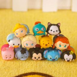 Tsum Tsum Stackable Game Mickey Minnie Mini 12 PCS Action Fi