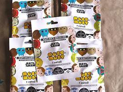 Disney * TSUM TSUM - STAR WARS SERIES #1 * 5 PACKS / 5-pin M