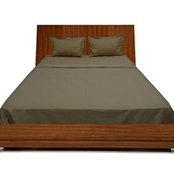 Relaxare Expanded Queen 300TC 100% Egyptian Cotton Taupe Sol