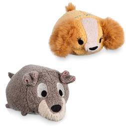 Disney Usa Tramp Mini Tsum Plush from Lady and the Tramp New